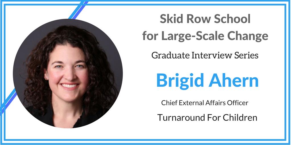 Alumni Profile: Brigid Ahern